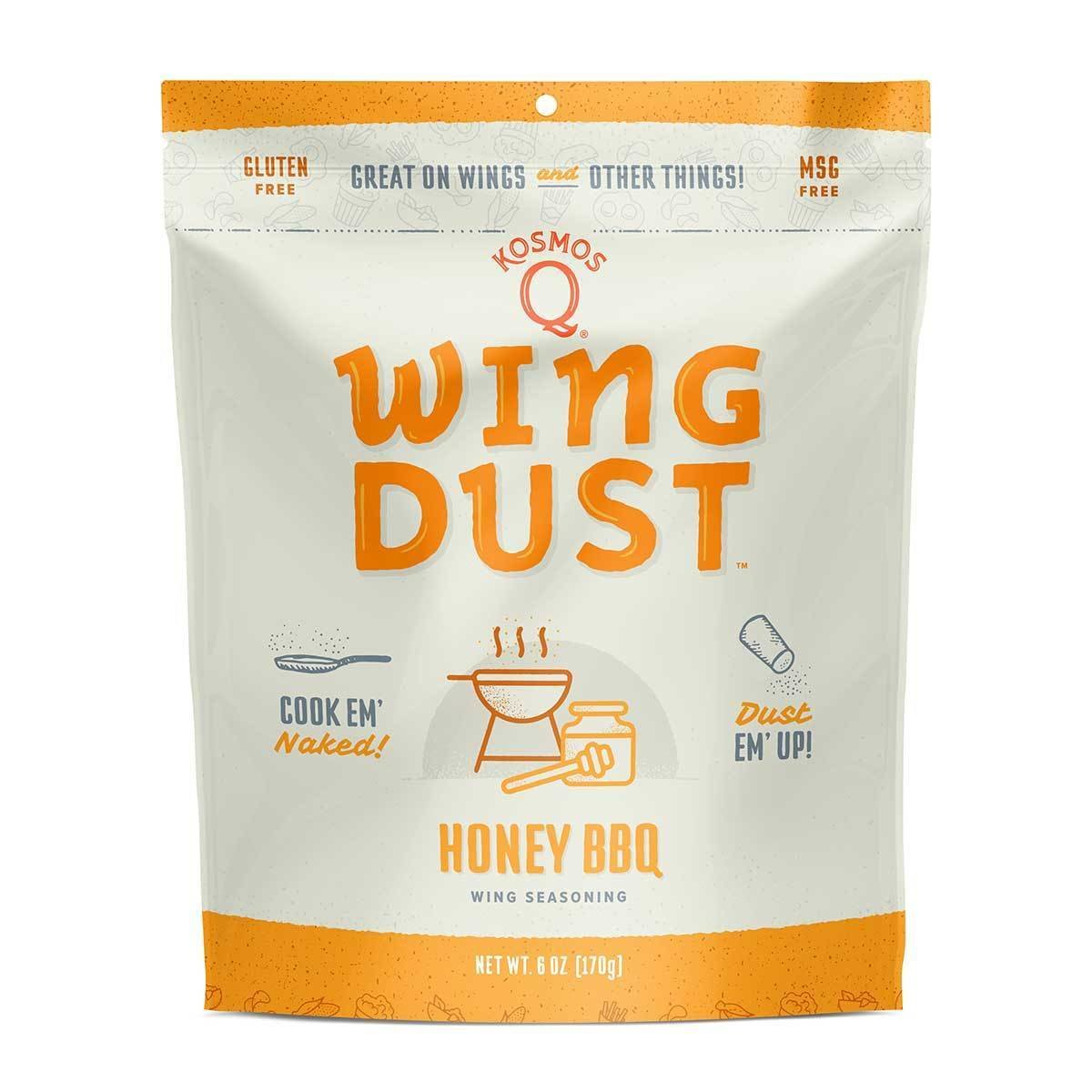 Kosmos Honey BBQ Wing Dust 6 OZ BAG 0851818003550