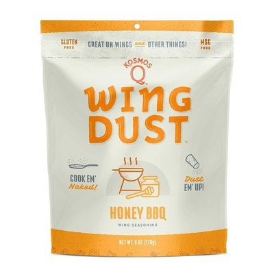 Kosmos Honey BBQ Wing Dust 6 OZ BAG
