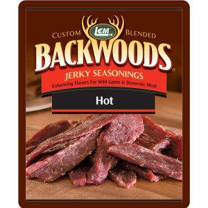 LEM BACKWOODS HOT JERKY SEASONING 0734494091557