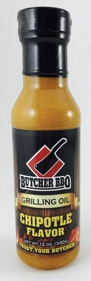 Butcher BBQ Grilling Oil Chipotle