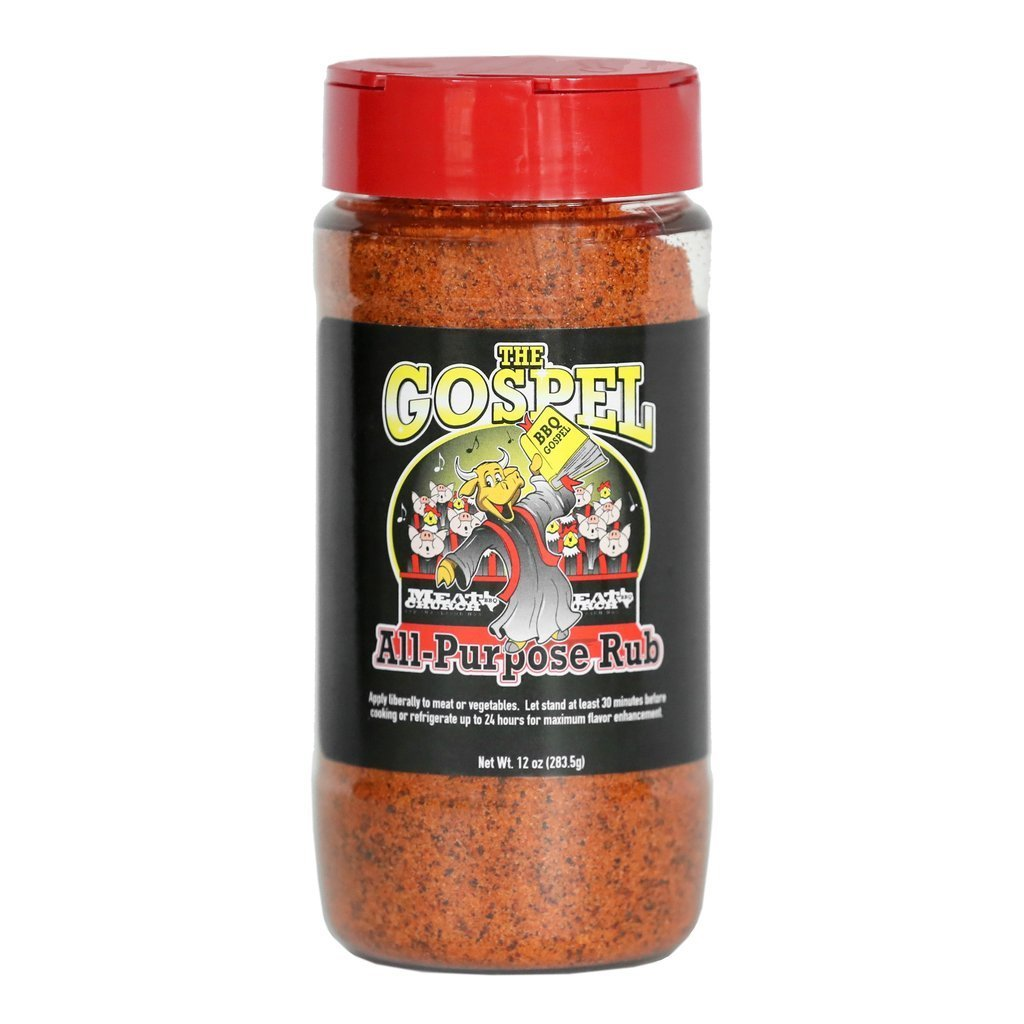Meat Church The Gospel All Purpose BBQ Rub 0744271988048