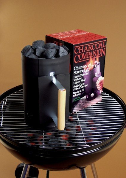 Black Charcoal Chimney Starter