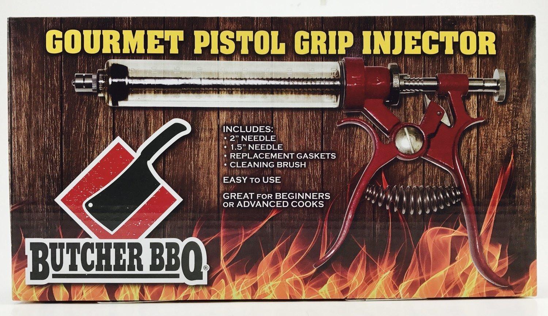 Pistol Grip Gourmet Meat Injector 0045635747821