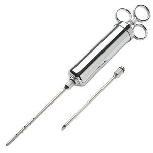LEM MEAT INJECTOR WITH 2 NEEDLES 0734494108392