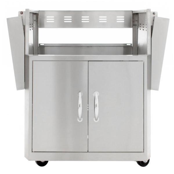 Blaze 27-Inch 2 Burner Professional Grill Cart 00209
