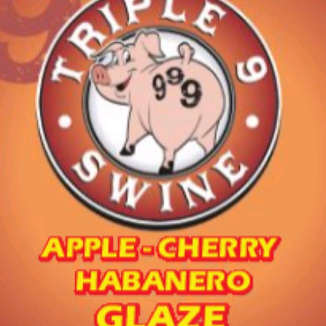 Triple 9 Swine Apple Cherry Habanero Glaze 0634294592271