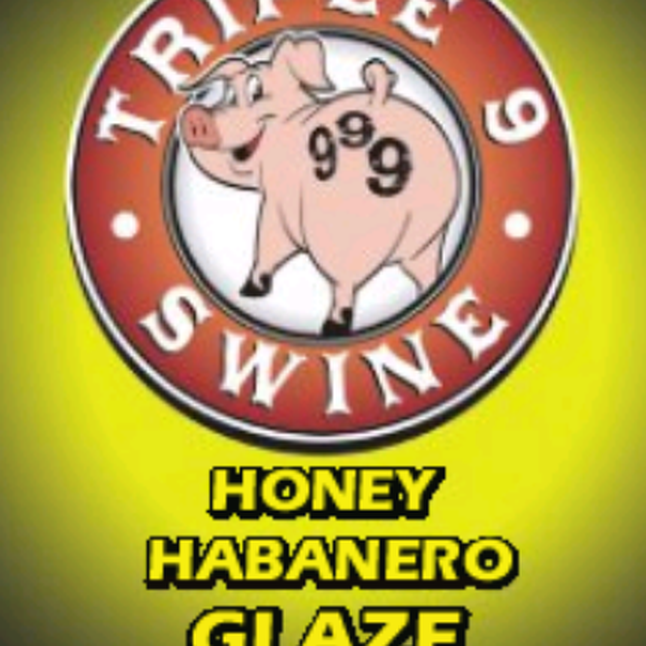 Triple 9 Swine Honey Habanero Glaze 0634294592400
