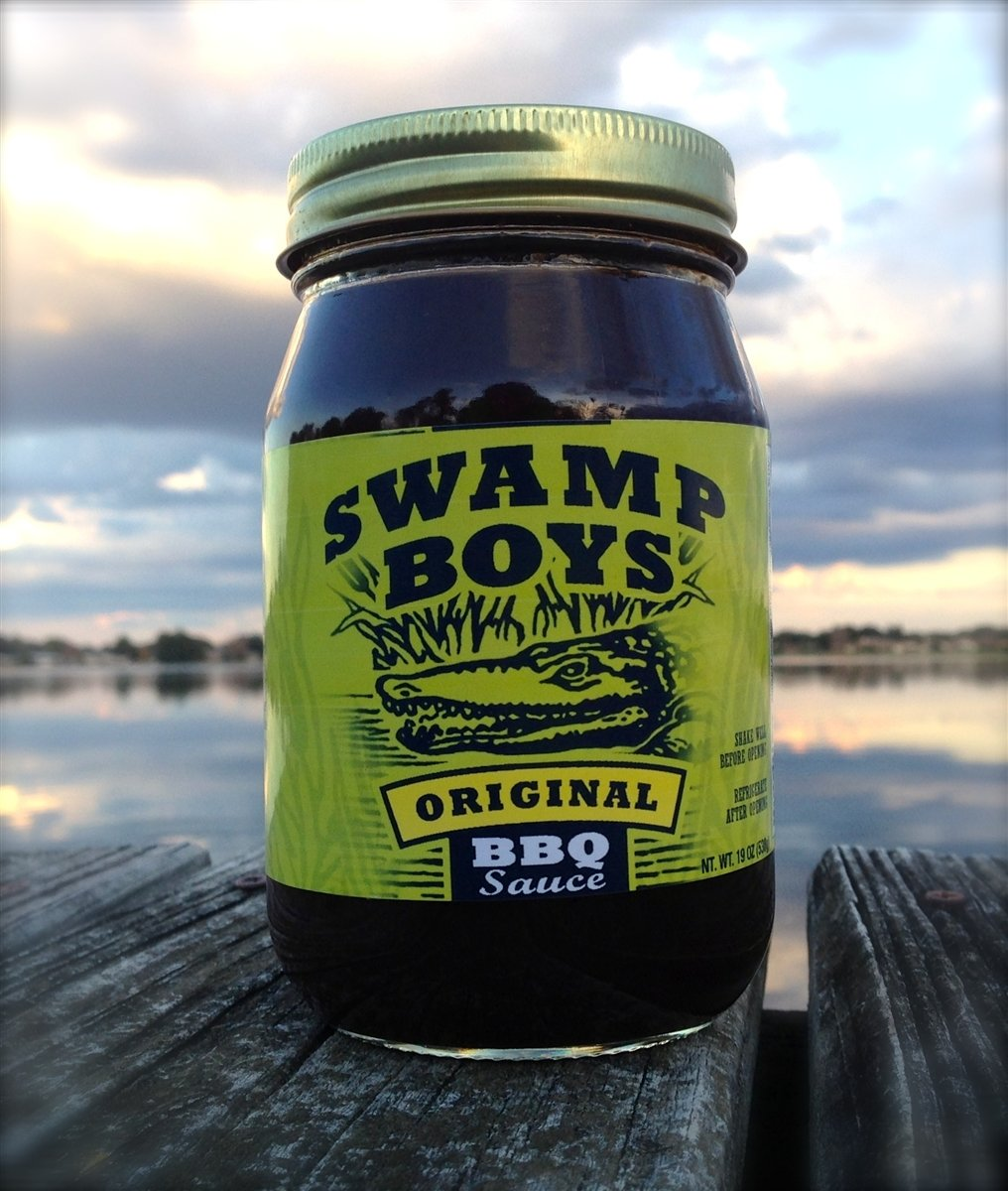Swamp Boys Original BBQ Sauce Pint 0868763000220