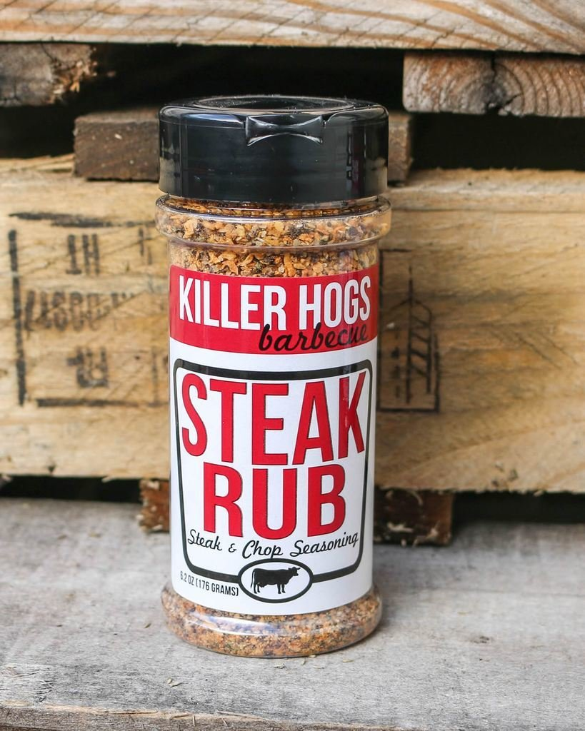 Killer Hogs Steak & Chop Rub 0854019006047