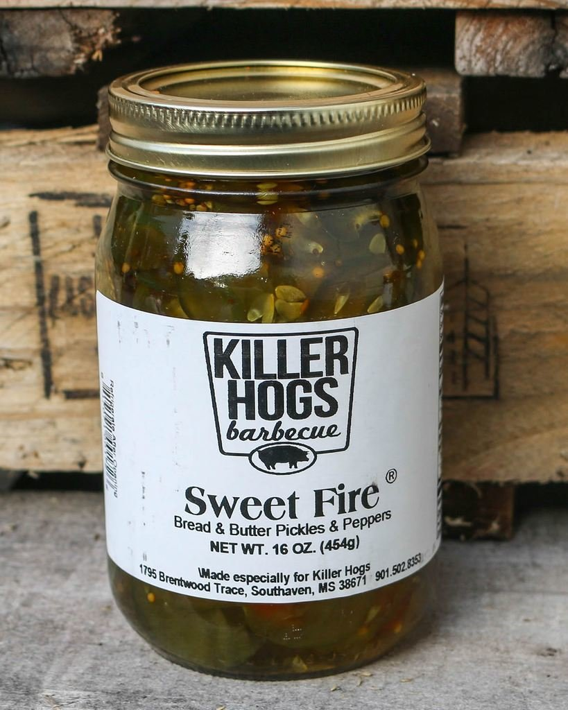 Killer Hogs Sweet Fire Pickles *SPICY* 0817071001726