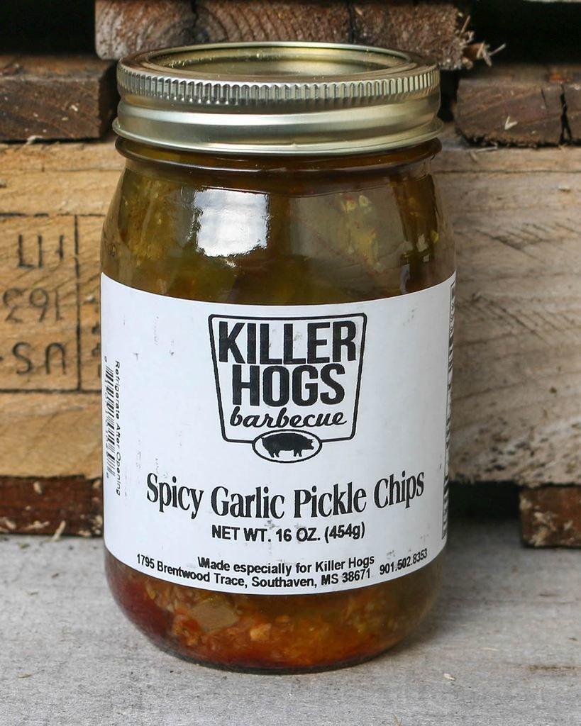 Killer Hogs Spicy Garlic Pickles *SPICY* 0817071010698