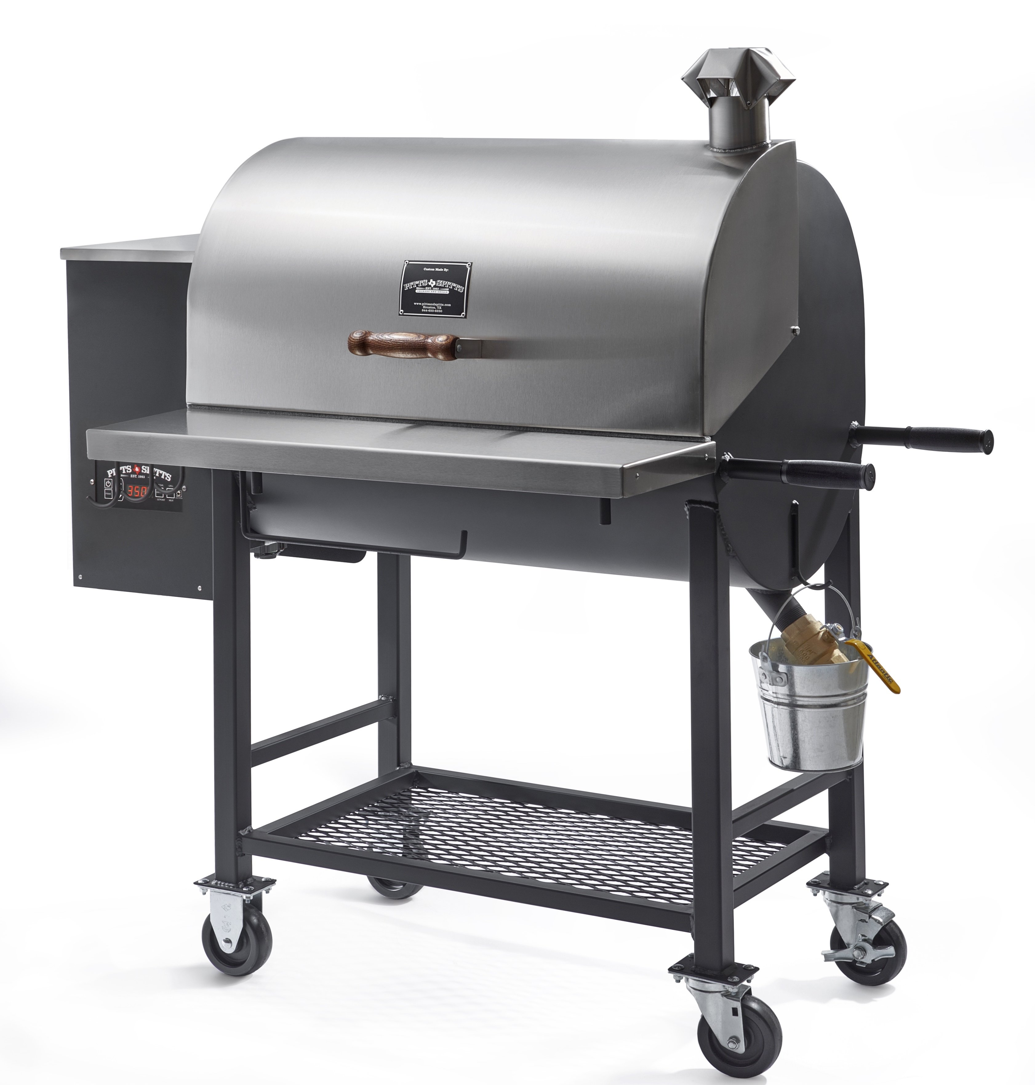 Pitts & Spitts Maverick 850 Wood Pellet Grill 00240