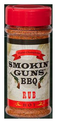 Smokin' Guns 7 oz. Hot Rub 0698795010016