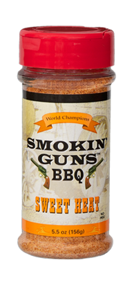 Smokin' Guns 7 oz. Sweet Heat Rub 0698795040013