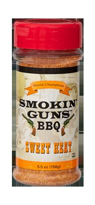 Smokin' Guns 7 oz. Sweet Heat Rub
