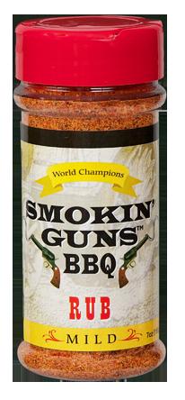 Smokin' Guns 7 oz. Mild Rub 0698795011013