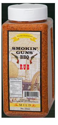 Smokin' Guns 2lbs Mild Rub 0698795011020