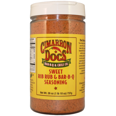 Cimarron Doc's Sweet Rib Rub & Bar-B-Q Seasoning 1 lb. 10 oz.