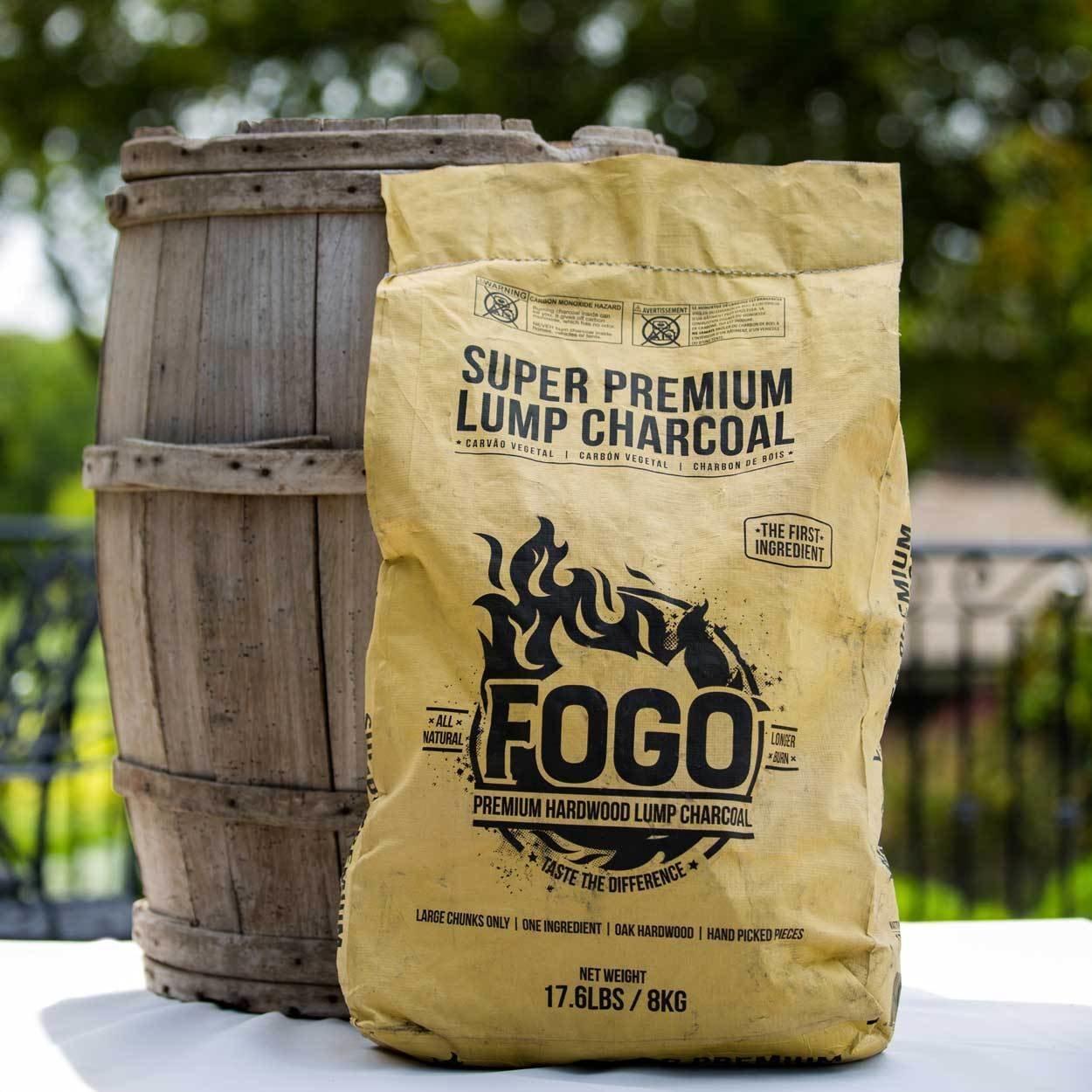 Fogo 17.6-pound Super Lump Premium Hardwood Charcoal Bag 00263