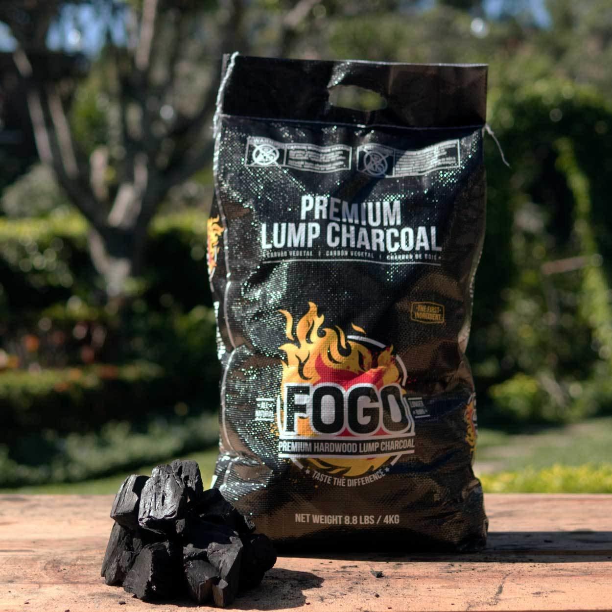Fogo Premium 17.6-pound Hardwood Lump Charcoal Black Bag 00264