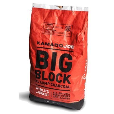 Kamado Joe Big Block XL Natural Lump Charcoal - 20 Lbs