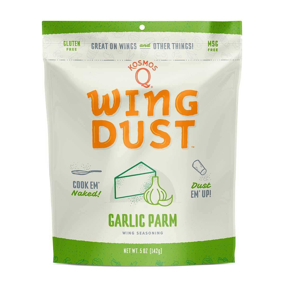 Kosmos Garlic Parm Wing Dust 0851818003482