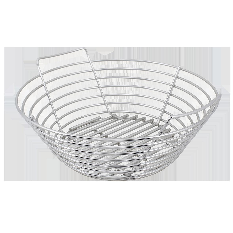 Stainless Steel Kick Ash Basket (Large Green Egg)