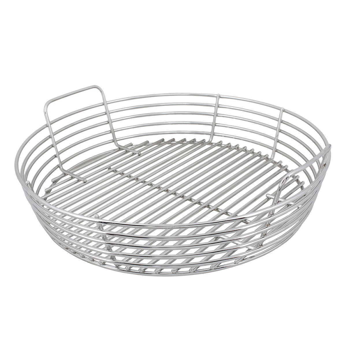 Stainless Steel Kick Ash Basket (XL Green Egg) 00294