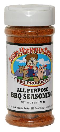 Smoky Mountain All Purpose BBQ Seasoning 6oz 0892504001207