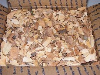 Peach Chips (1 case) (12. 200cu in bag) 091037615251