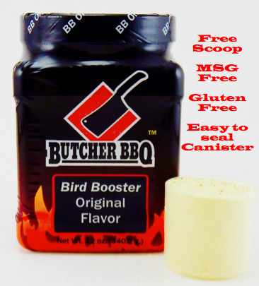 Butcher BBQ Bird Booster Original Flavor 0045635747708