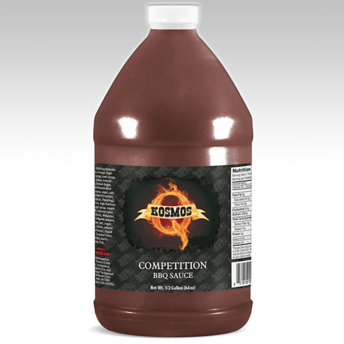 Kosmos Competition BBQ Sauce 1/2 Gallon 0851818003376