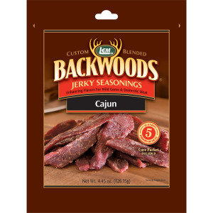 LEM Backwoods Cajun Jerky Seasoning 0734494090222