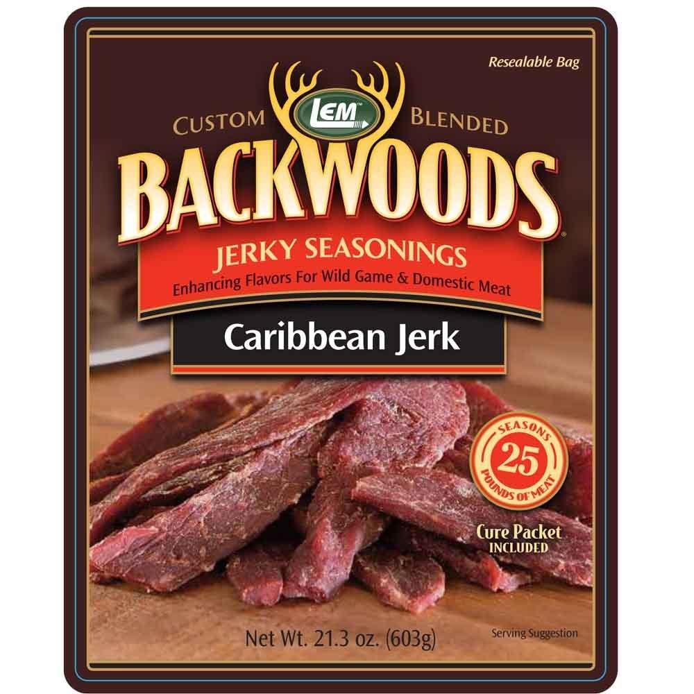 LEM Backwoods Caribbean Jerky Seasoning 00388