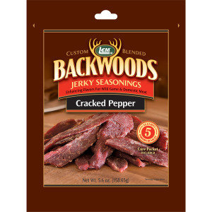 LEM Backwoods Cracked Pepper Jerky Seaoning