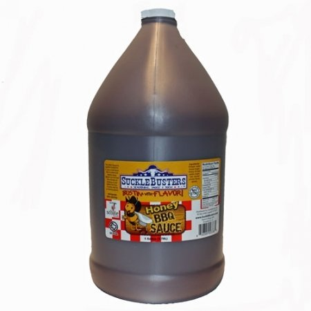 SuckleBusters Honey BBQ Sauce 1 Gallon 00392
