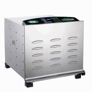 LEM-1154 Big Bite Digital SS (w/10 Chrome Trays) 0734494011548