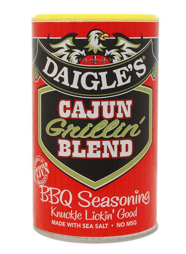 Daigle's Cajun Grillin Blend 8oz 0853037003045