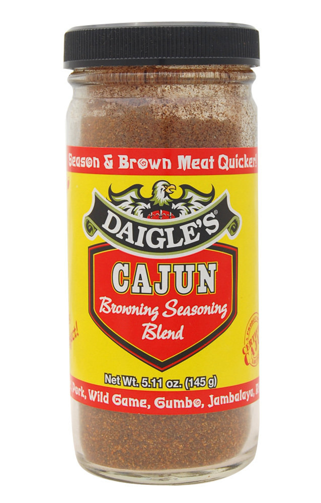 Daigle's Cajun Browning Seasoning Blend 5.11 oz 0853037003274
