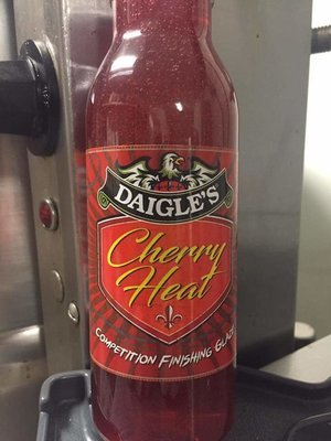 Daigle's Cherry Heat Competition Finishing Glaze 12 oz
