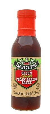 Daigle's Cajun Sweet Pecan Garlic Sauce 12 oz