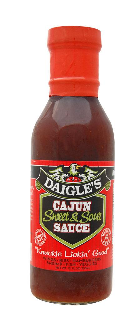 Daigle's Cajun Sweet&Sour Sauce 12 oz 0853037003007