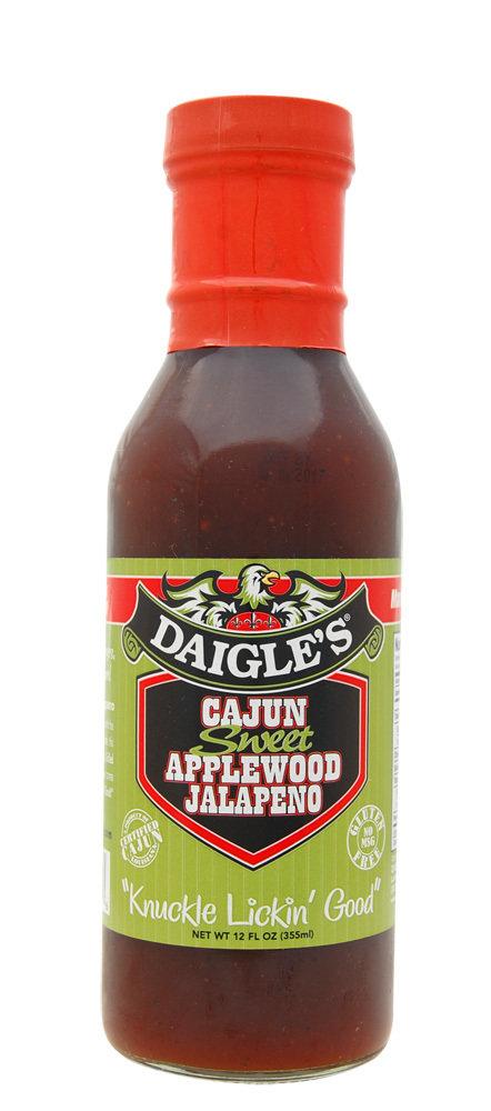 Daigle's Cajun Sweet Applewood Jalapeno 0853037003076