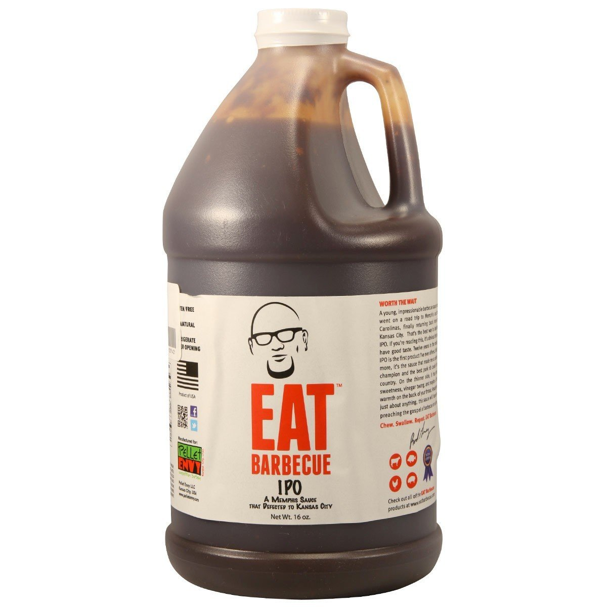 Eat BBQ IPO 1/2 Gallon 0700953352101