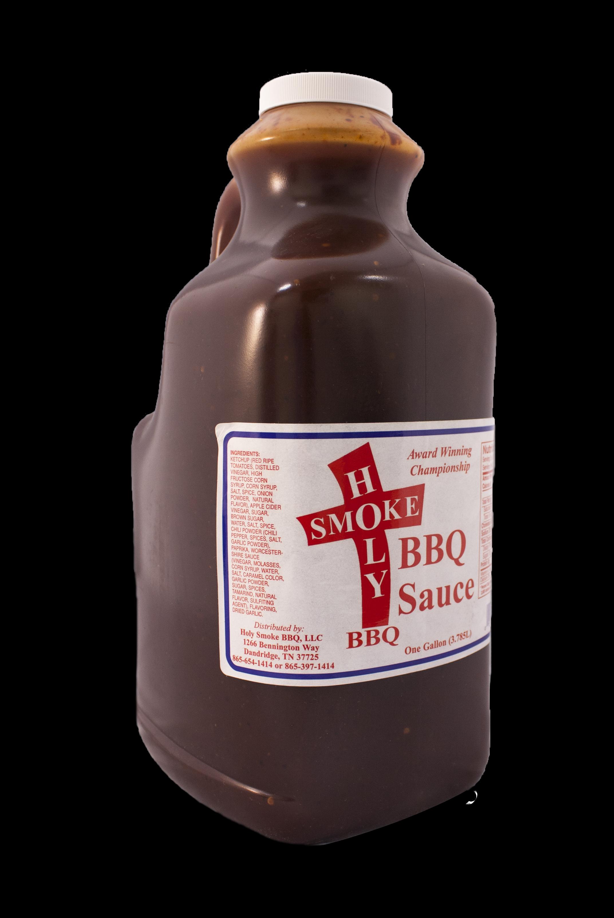 Holy Smokes-BBQ Sauce-1 gallon 0013964186512