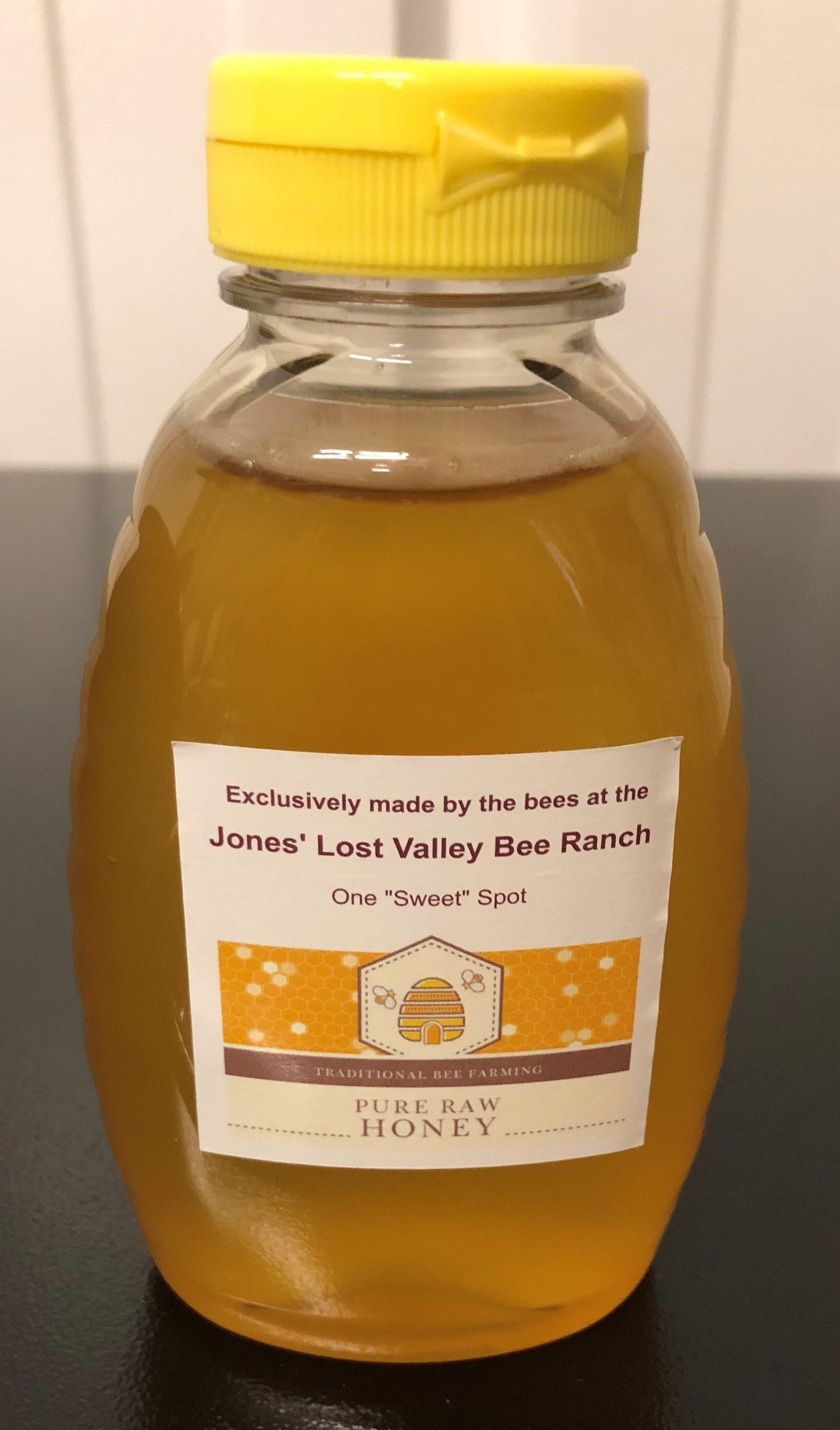 Jones' Lost Valley Bee Ranch Honey 000000001498