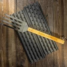 "GrillGrate-2 panel set 17.375"" GrillGrates with Grate Tool 0721405590858"