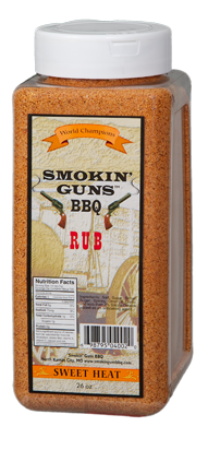 Smokin Guns- Sweet Heat 8 lb Rub 01516