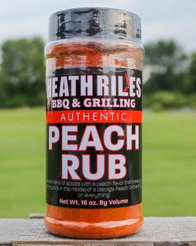 Heath Riles-BBQ Peach Rub-16oz