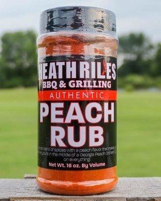 Heath Riles-BBQ Peach Rub-16oz
